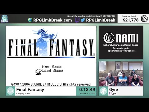 Final tasy GBA by Gyre RPG Limit Break 2016 Part 14