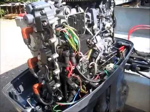 2003 Yamaha 90 HP Outboard Won't Revup passed 2,500 RPM! FiX  YouTube