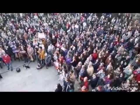Manifestación en Lugo contra la sentencia de La Manada