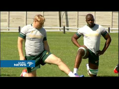 Forced changes to the Springboks squad for the New Zealand test