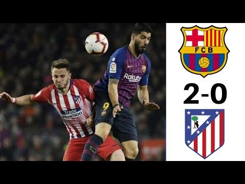 Barcelona Vs Atletico Madrid 2-0 Highlights & Goals HD 720p 1080p 4k LaLiga 7 April 2019