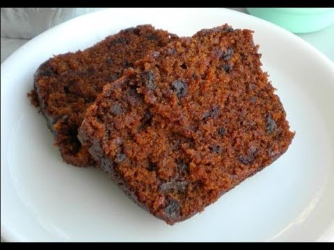 Eggless Dates and Walnut Cake SOFT & MOIST CAKE ||#CANDIDBERRY