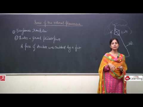 Some Natural Phenomena: Discovery of Natural Phenomena - Class 8th - 01/14