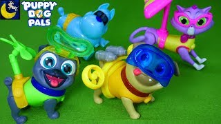 Puppy Dog Pals Toys Scuba Rolly Helicopter Bingo Glider Hissy Cat Secet Agent ARF Mission Pals Toys