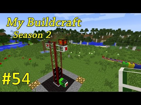 My Buildcraft S2E54 - Liquid Robots