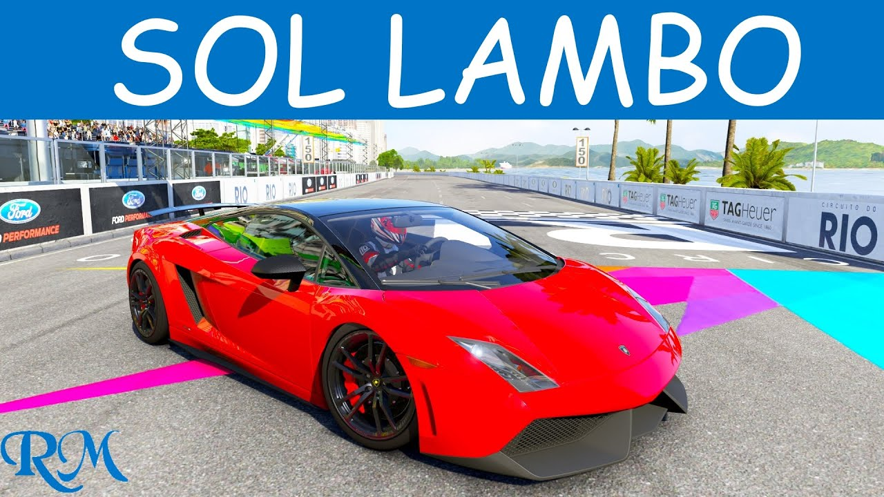 Forza 6 2011 Lamborghini Gallardo Superleggera Top Speed Youtube