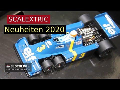 Scalextric Neuheiten 2020 auf der Spielwarenmesse in Nürnberg
