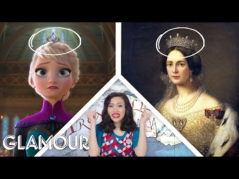 Fashion Expert Fact Checks Elsa and Anna's Costumes from 'Frozen' | Glamour