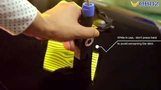How to Use WOYO PDR007 Paintless Dent Repair Tool--UOBD2
