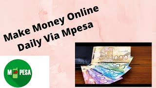 Another way to make money online in Kenya and withdraw through Mpesa |Bold casher review