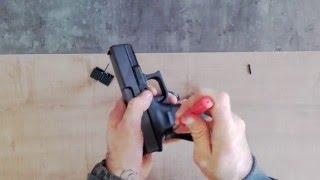 Glock Changer le dos de Poignet.
