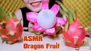 ASMR Exotic Dragon Fruit, eating sound,mukbang | LINH-ASMR