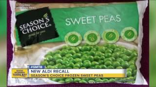 ALDI recalls Season's Choice frozen sweet peas