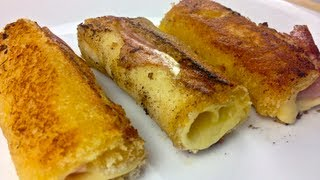 ROLLED GRILLED CHEESE SANDWICH - Todd