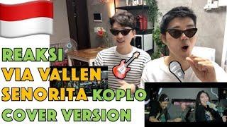Reaksi Via Vallen - Senorita Koplo Cover Version (Shawn Mendes feat Camila Cabello) Korean reaction