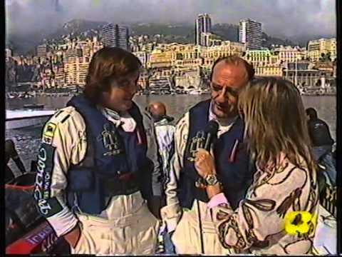 Offshore 1990 Campionato Mondiale a Montecarlo