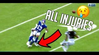 All Of Odell Beckham Jrs Injuries (Emotional)