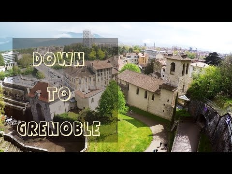 Grenoble: Looking for food/ Гуляем по Греноблю