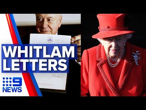 Whitlam dismissal letters to be released | Nine News Australia