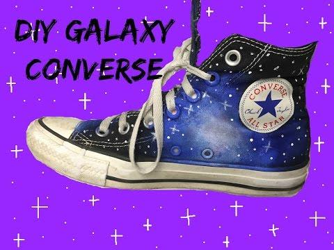 DIY Galaxy Converse!