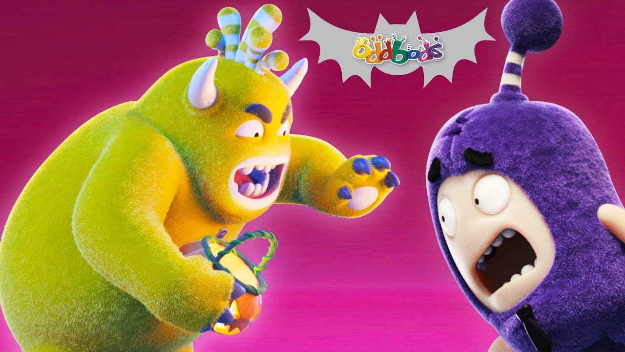 Oddbods | TRANSMORGRIFIER | Halloween Cartoons For Kids