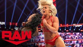Mandy Rose vs. Shayna Baszler Raw, Jan. 18, 2021