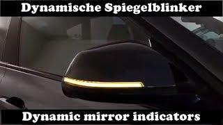 Orig BMW Spiegelblinker links 7280771 F30 F31 F32 F33 Blinker Zusatzblinker 3er