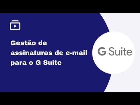 Gerenciador de assinatura de e-mail para Google Workspace