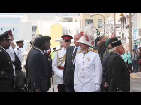 #2 Governor Inspects Veterans Remembrance Day Parade Bermuda November 11 2011
