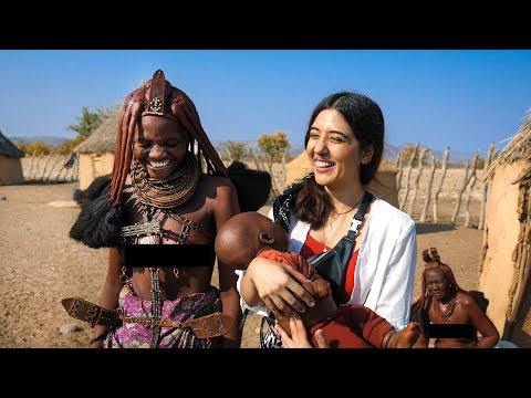 Himba Tribal Women & their lifestyle .. I'm Moved! Namibia Vlog EP04 | Opuwo | Tanya Khanijow