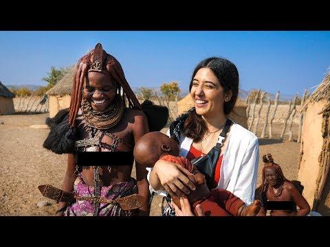 Himba Tribal Women & their lifestyle .. I'm Moved! Namibia Vlog EP04   Opuwo   Tanya Khanijow