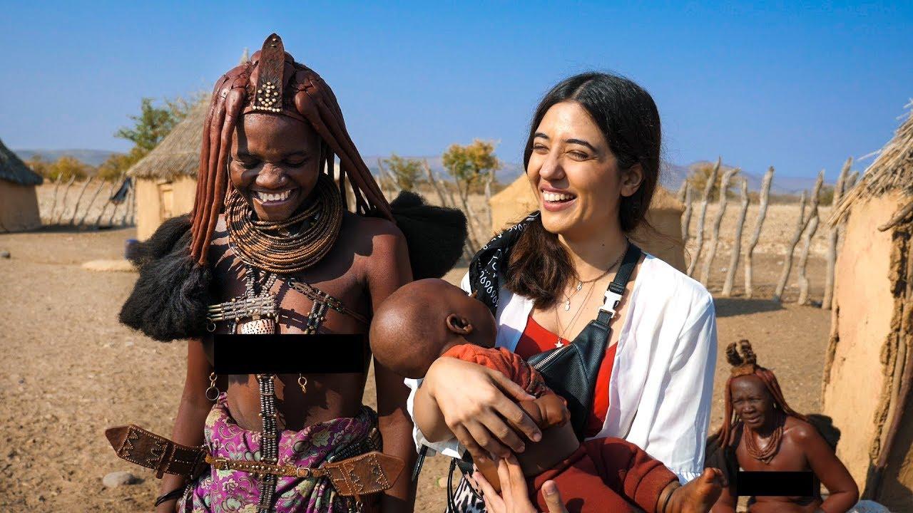 Download Himba Tribal Women & their lifestyle .. I'm Moved! Namibia Vlog EP04 | Opuwo | Tanya Khanijow
