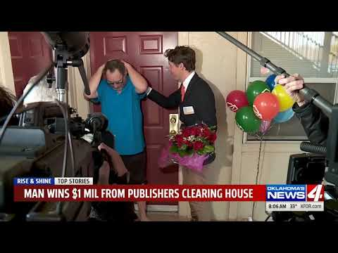 Publishers Clearing House Sweepstakes Winners In The News - YouTube