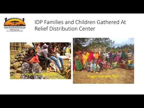 Relief Campaign For Internally Displaced Burji People from Hageremariam Guji Zone Oromia Ethiopia