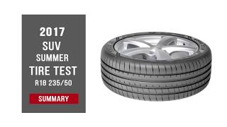 2017 SUV Summer Tyre Test – Summary | 235/50 R18