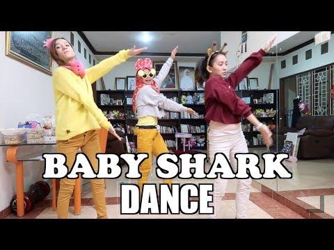 BABY SHARK DANCE - (Ria Ricis, Marisha Chacha & Atika)