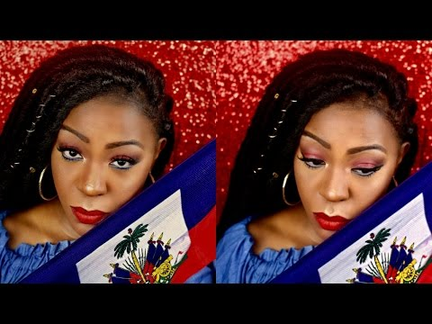 Get Ready With Me-Haitian Flag Day