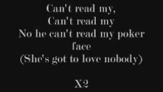 Poker Face Lyrics thumbnail