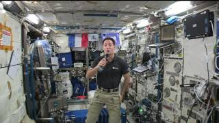 Space Station Crew Member Discusses Life in Space with the French President