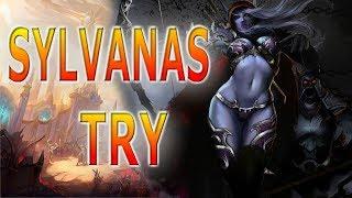 Sylvanas HEROES OF THE STORM GAMEPLAY ESPAÑOL campos de batalla de la eternidad OLI