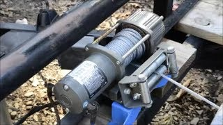 Badland 5000lb Winch - can it pull a car onto the trailer