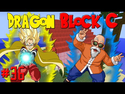 "Dragon Block C: ""Master Roshi & Learning The Kamehameha!"" 