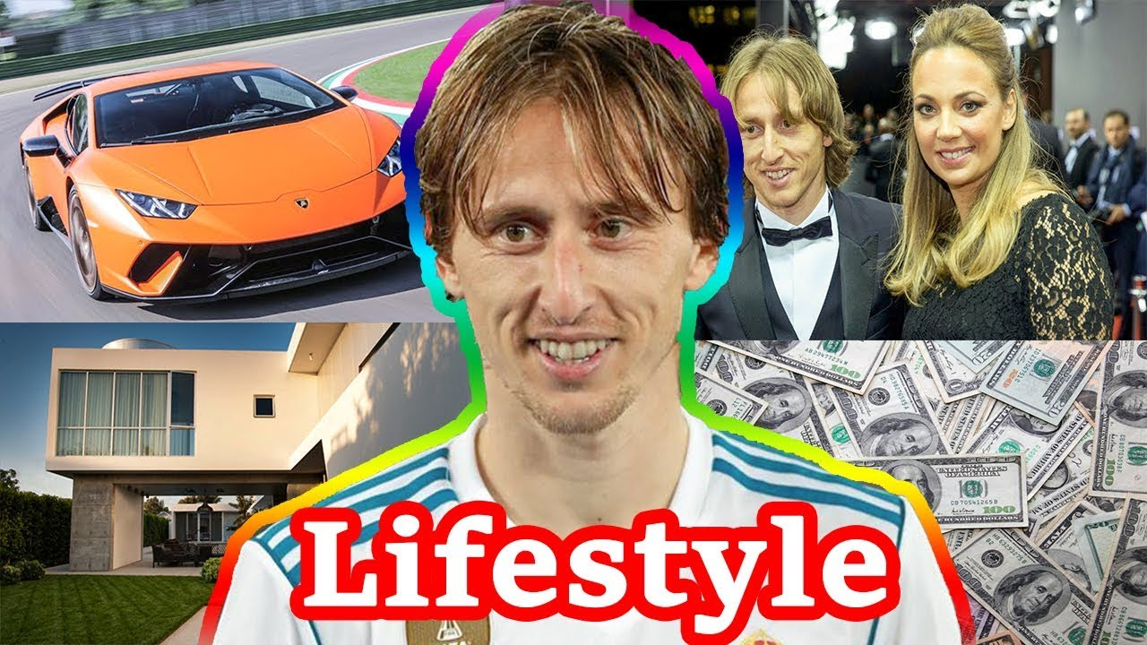 Image result for Luka Modrić Lifestyle | Wife | Kids | Family | Cars | House | Net Worth | Salary | Biography