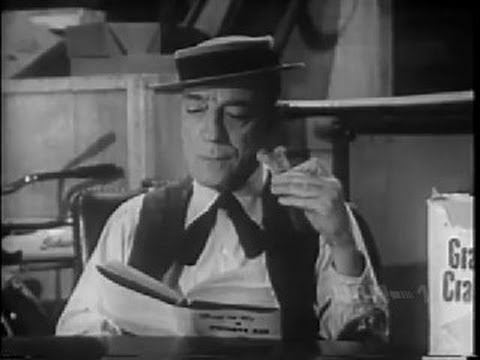 "BUSTER KEATON Life with Buster TV series ""The PI"" (classic comedy)"