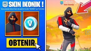 'BIG BUG' HAVE THE IKONIK SKIN FOR FREE 0 GLITCH FORTNITE SAISON 9 PS4/XBOX/SWITCH/PC/MOBILE