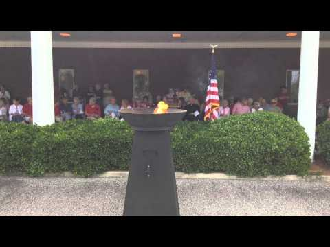 Memorial Day Service At Macon Memorial Park