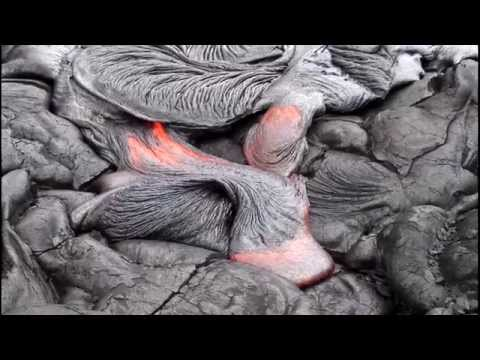 Flowing Lava in Hawai
