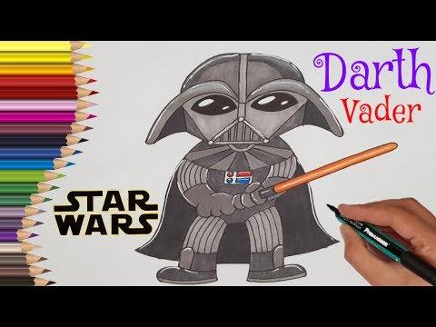 desenez-personaje-din-filme-sau-din-desene-animate- -star-wars-darth-vader