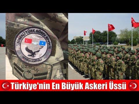 Somali'deki Türk Askeri Eğitim Merkezi - Turkish Military Training Center in Somalia
