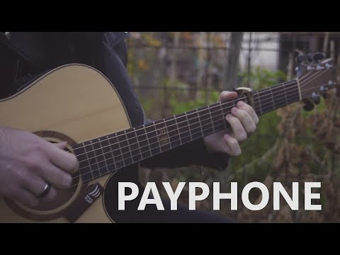 Maroon 5 - Payphone - Fingerstyle Guitar Cover